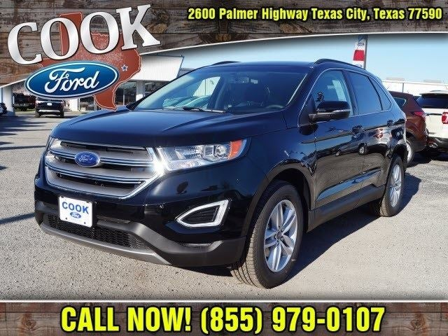 2018 ford edge sel in texas city tx houston ford edge cook ford. Black Bedroom Furniture Sets. Home Design Ideas