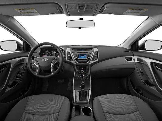 hyundai elantra 2014 manual transmission